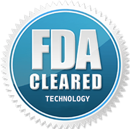 FDA cleared technology badge